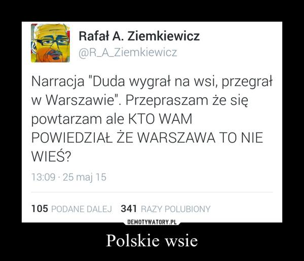 Polskie wsie –