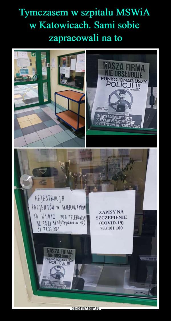 –  NASZA FIRMA NIE OBSŁUGUJE FUNKCJONARIUSZY POLICJI