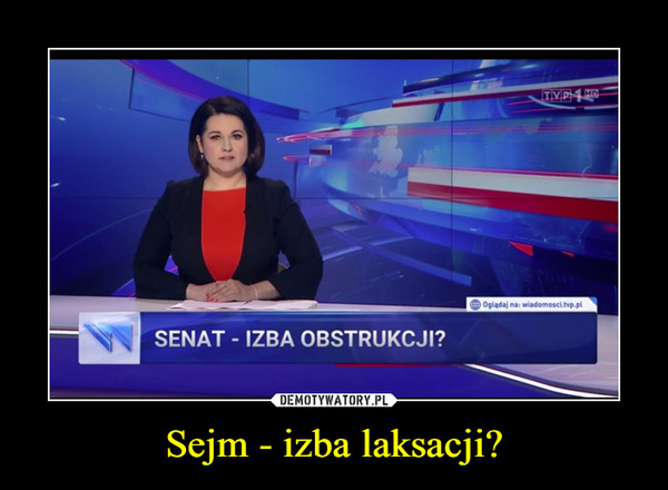 Sejm - izba laksacji? –