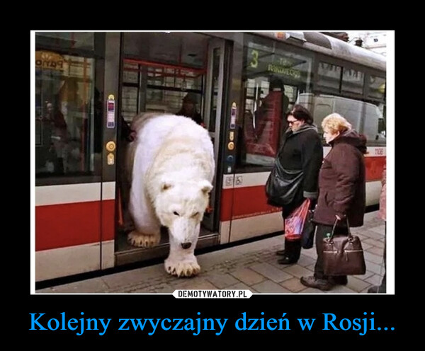 Kolejny zwyczajny dzień w Rosji... –